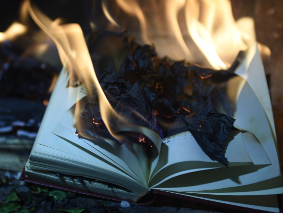 Publishing Problems: Book Burning