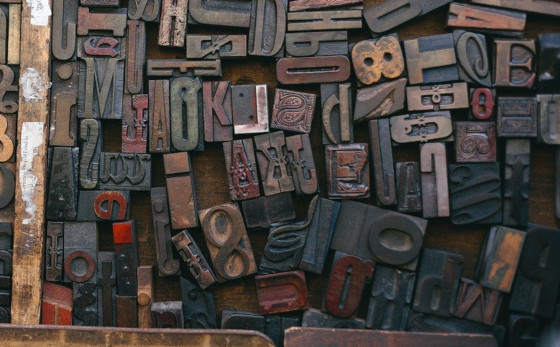 A jumble of letters, like the jumble of language